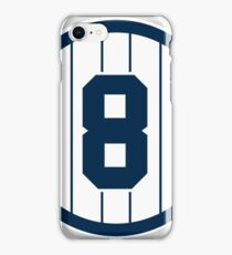Yankees Number 8 iPhone Case/Skin