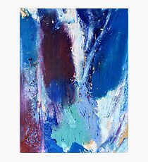 Colourful Abstract Oil Pastel Design Photographic Print