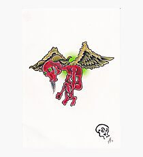Flying Hate Photographic Print