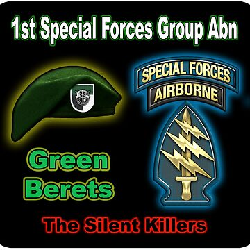 1st Special Forces Group (Abn) by thegrafaxspot