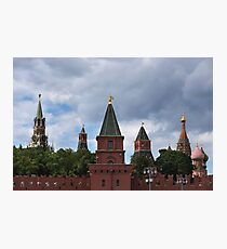 View on Moscow Kremlin Photographic Print