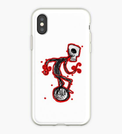 cyclops on a unicycle iPhone Case