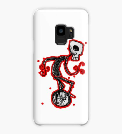 cyclops on a unicycle Case/Skin for Samsung Galaxy
