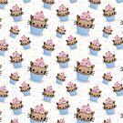 Cat cupcake by JudithzzYuko