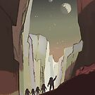 Astronaut Kids Mars Field Trip by Jim Plaxco