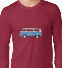 Tin Top Early Bay standard mid blue and white T-Shirt