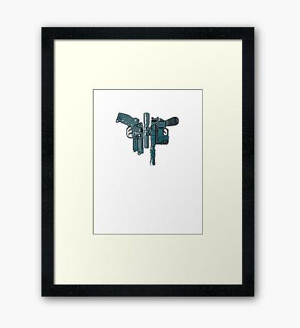 Fords guns. Framed Print