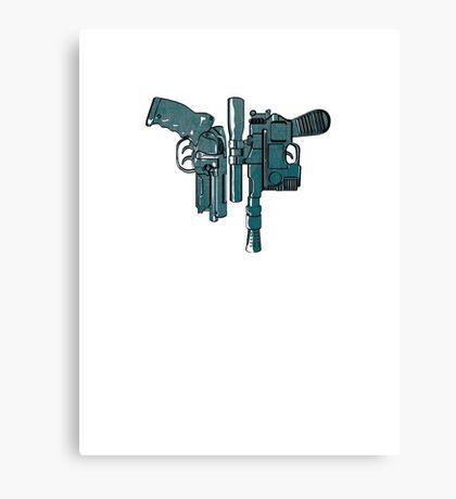 Fords guns. Canvas Print