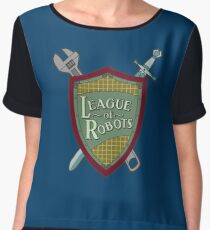 League Of Robots! Women's Chiffon Top