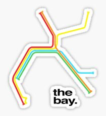 the bay. Sticker