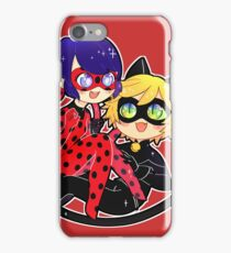 Miraculous Ladybug & Chat Noir iPhone Case/Skin