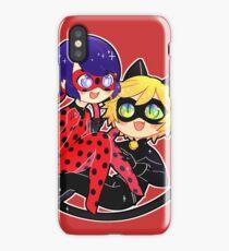 Miraculous Ladybug & Chat Noir iPhone Case/Skin