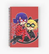 Miraculous Ladybug & Chat Noir Spiral Notebook