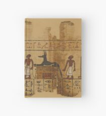 A Page from the Egyptian Book of the Dead Hardcover Journal