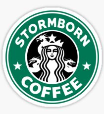 Stormborn Coffee Sticker