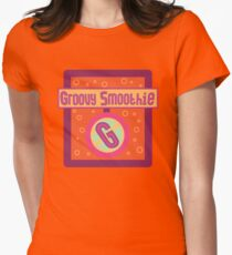 The Groovy Smoothie Womens Fitted T-Shirt