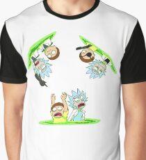 Rick and Morty vs Rick and Morty Graphic T-Shirt