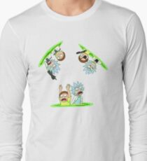 Rick and Morty vs Rick and Morty Long Sleeve T-Shirt