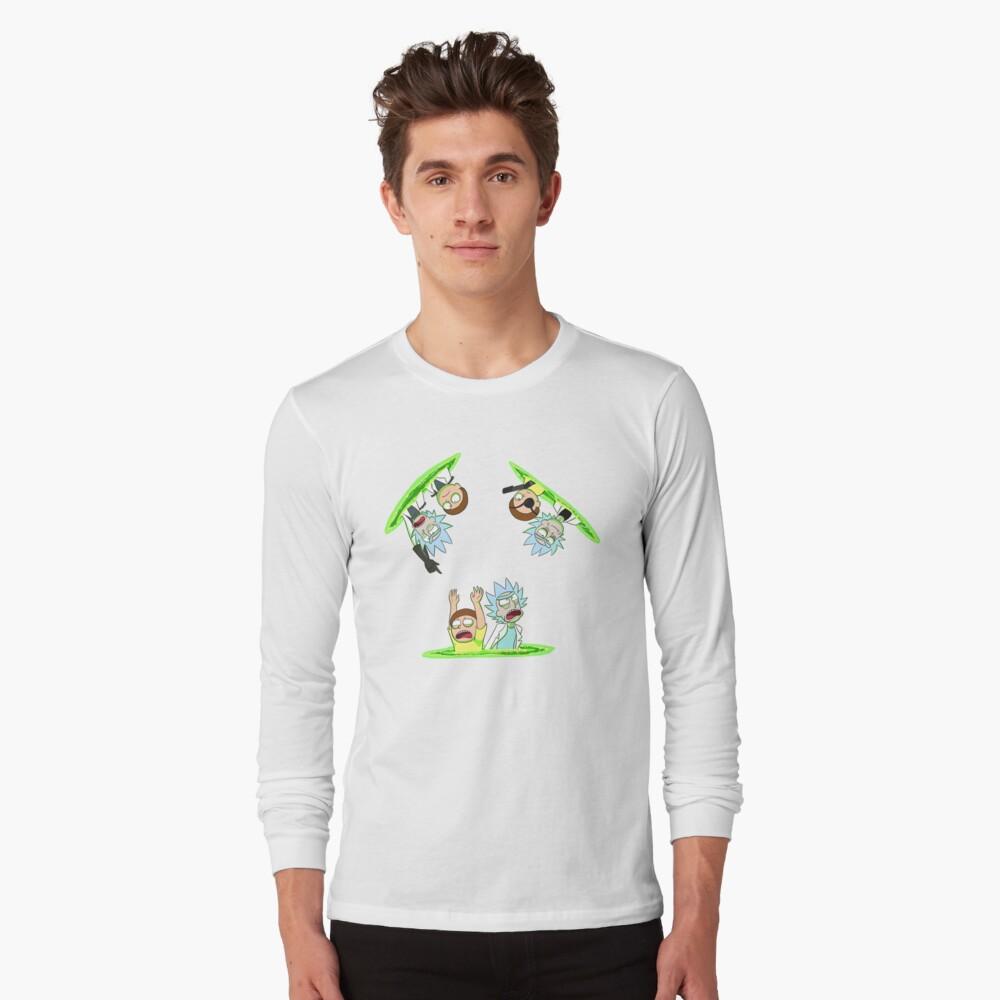 Rick and Morty vs Rick and Morty Long Sleeve T-Shirt