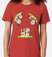 Rick and Morty vs Rick and Morty Tri-blend T-Shirt
