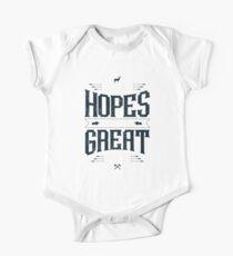 GREAT HOPES MAKE GREAT MEN Kids Clothes