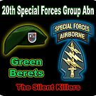 20th Special Forces Group (Abn) by woodywhip