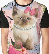 Fashion kitten Graphic T-Shirt