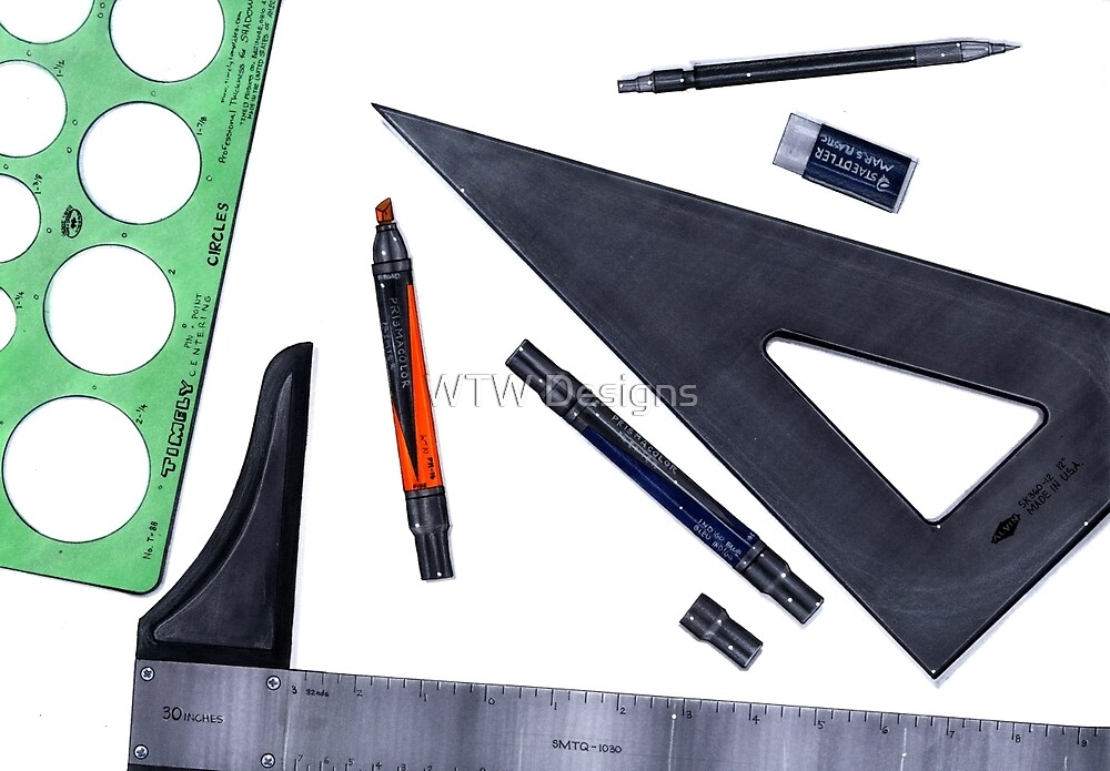 Drafting Tools by WTWalters