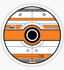BB-8 Pokemon Ball Mash-up Sticker
