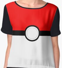 Pokeball Chiffon Top