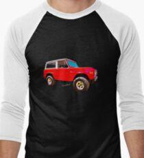 Ford Bronco Classic from VivaChas Hot Rod Art Men's Baseball ¾ T-Shirt