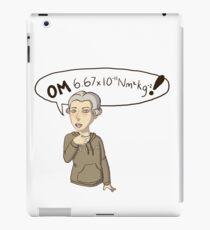 Henry Cavendish OMG! iPad Case/Skin
