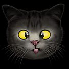 CROSS EYED CAT by MEDIACORPSE