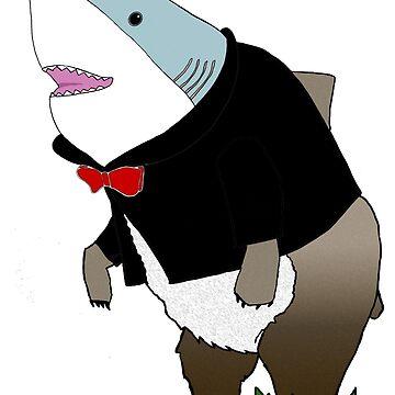 Mr Bearshark by ilantia