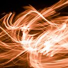 Orange Swirl by Liz Grandmaison
