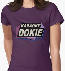 Karaoke Dokie 2 Womens Fitted T-Shirt