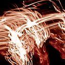 Flaming Horse Race by Liz Grandmaison