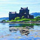 Eilean Donan Castle , the Highlands by David Rankin