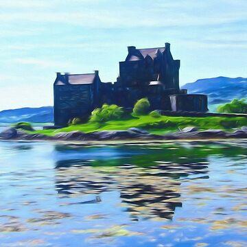Eilean Donan Castle , the Highlands by goldyart