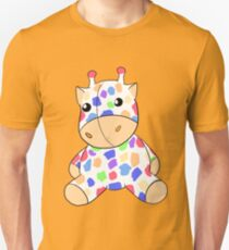 Rainbow Giraffe Plush T-Shirt