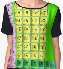 118 Element Periodic Table Women's Chiffon Top