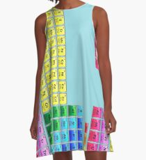 118 Element Periodic Table A-Line Dress