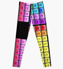 118 Element Periodic Table Leggings