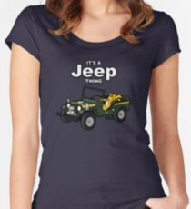 It's a Jeep Thing! Women's Fitted Scoop T-Shirt