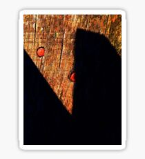 Shadow Scissors Sticker