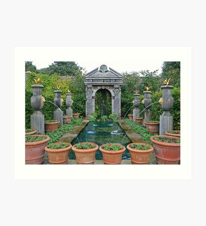 Arundel Castle Gardens Art Print