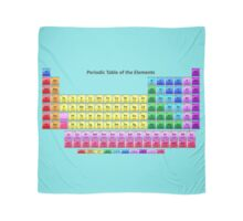 Shiny Periodic Table of the Chemical Elements Scarf