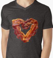 Bacon V-Neck T-Shirt