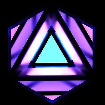 Tri-Hex Logo/Icon by zcore101