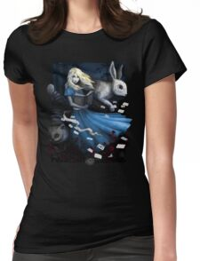 Adventure Girl Womens Fitted T-Shirt